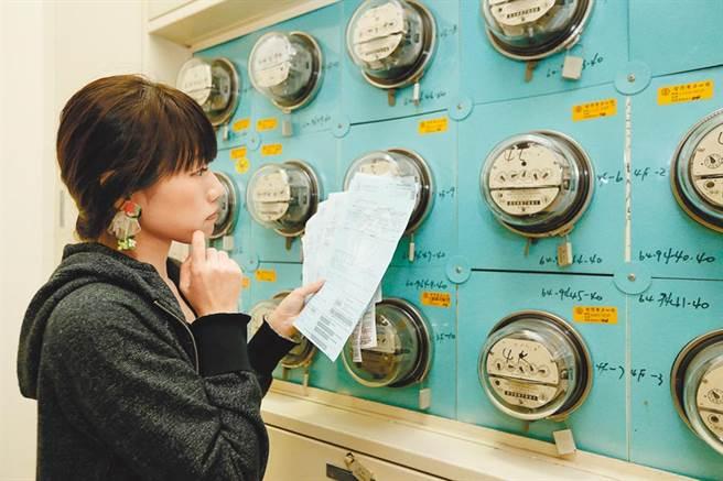 經濟部昨宣布10月電價不漲,電價拉出「五連凍」,長達2年半價格未調整。(本報資料照片)
