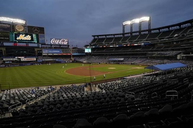 紐約大都會主場花旗球場(Citi Field)。(美聯社資料照)