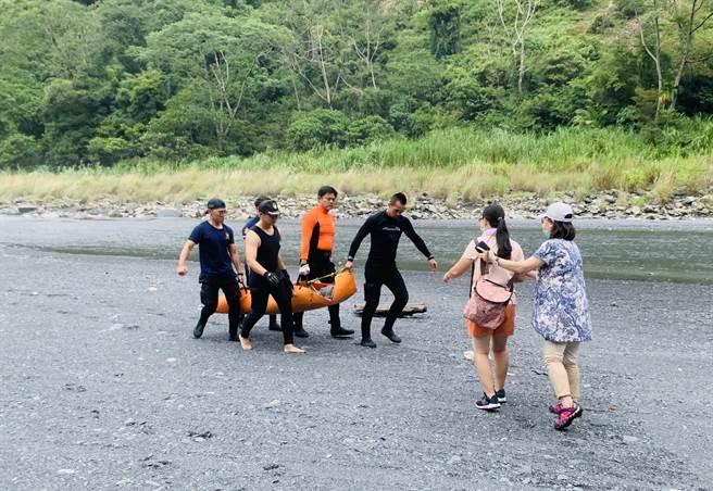 武界壩洩洪致4人死亡,震驚社會!(廖志晃攝)