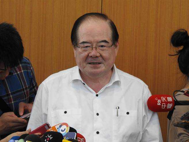 國民黨祕書長李乾龍。(趙婉淳攝)