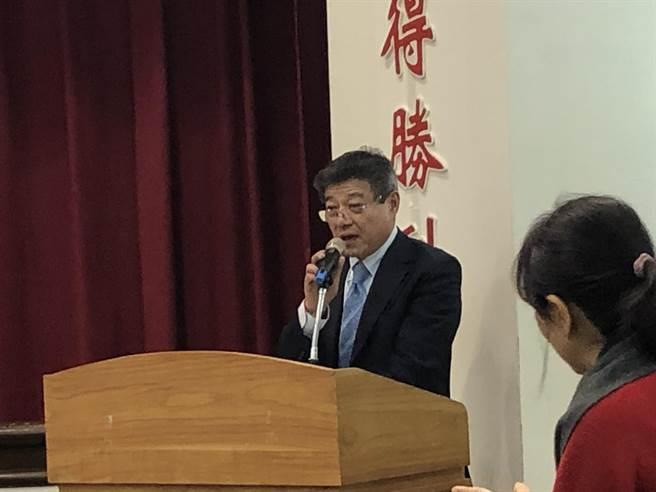 林榮德:配合國民黨政策 不去海峽論壇