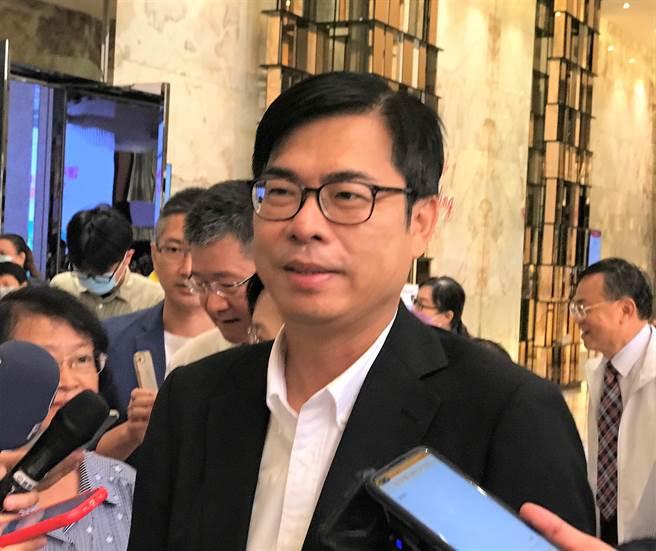 高雄市長陳其邁。(資料照片,林瑞益攝)
