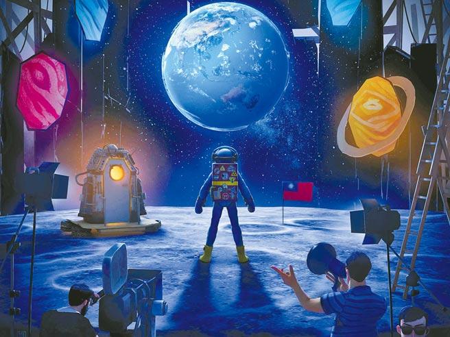 《星際大騙局之登月計劃》由《返校》導演徐漢強與阿根廷導演馬可洛可可共同執導。(綺影映畫、希望行銷提供)