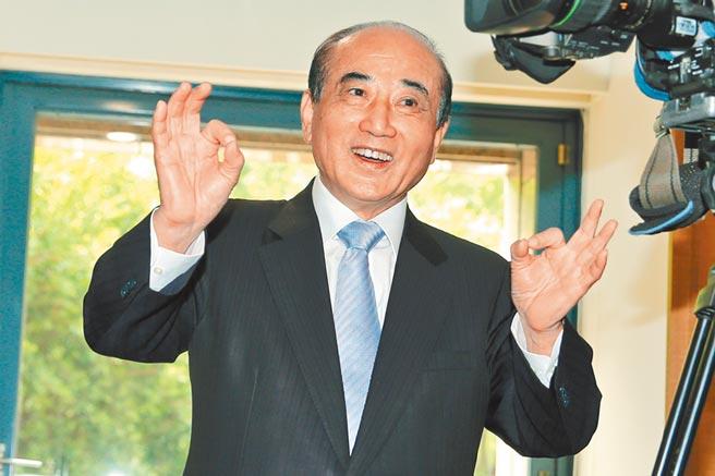 立法院前院長王金平。(黃世麒攝)