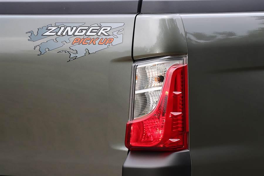 「大眾皮卡夢」的實現,CMC ZINGER Pickup 2.4 晶鑽型