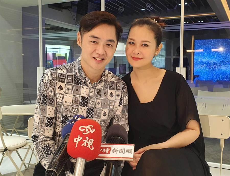 演藝圈模範夫妻宋逸民、陳維齡婚姻曾陷危機。(照片/游定剛 拍攝)