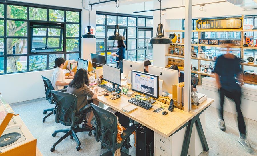 「甲蟲創意」的工作室將在「打開台北」活動中對外開放。(打開台北提供)