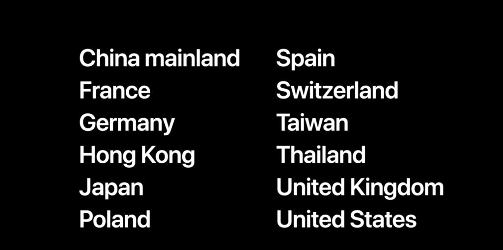 Apple Watch Series 4以上機種可支援家人共享設定功能,台灣也支援。(摘自蘋果官網)