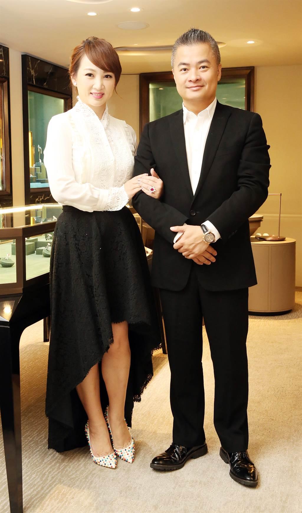 郁方與「斐儷珠寶」總經理陳昱羲結婚14年,育有兩子一女。(圖/本報系資料照片)