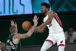 NBA》熱火延長賽拔頭籌 70%機率進總冠軍賽