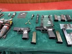 又是「阿飄」改槍 台南警查扣改造槍枝工廠