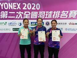 中華開發小飛象 羽球、網球小將傳捷報