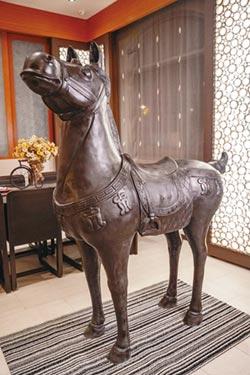 上古藝術 將展出宣德古銅雕戰馬