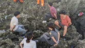越南偷渡客跳海游上墾丁 海巡一早又逮6人