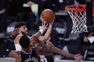 NBA》賈瑪莫瑞單節神級演出 金塊淘汰快艇進西區決賽
