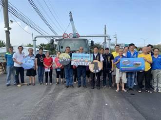 聯結車與民爭道 中市議長爭取限高門架今啟用
