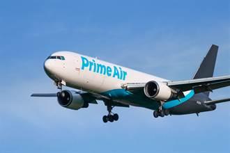 亞馬遜3個月新買9架飛機 硬拚快遞三雄?