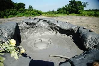 燕巢泥火山 蓄熱待發的生態奇景