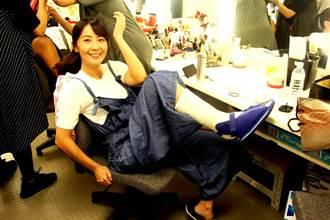 林昀希拍《天驕》腳骨折打石膏!與張靜之5天變閨蜜想搞女女CP