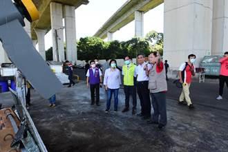 國道3號橋下投入2615萬元 打造彰市廚餘推肥廠每日提升10公噸