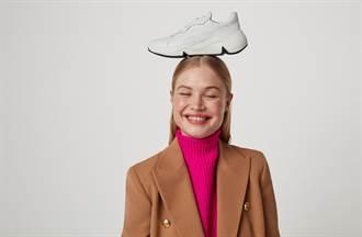 潮趣老爹鞋甩開厚重「輕量」上陣 全皮革拼接質感倍增