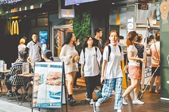 四小龍之冠 台灣今年唯一正成長