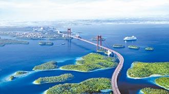 廣西最長跨海大橋動工