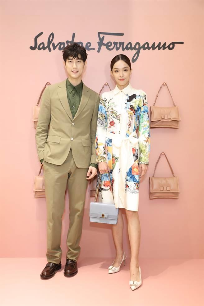 新生代男星范姜彦丰(左)与女星赖郁庭。(图/品牌提供)