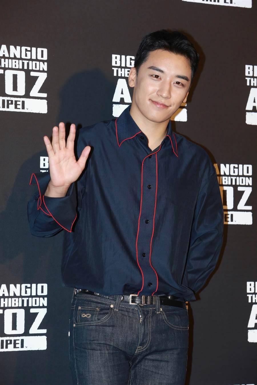 BIGBANG前成員勝利過去被拍來台上夜店。(圖/中時資料照片)