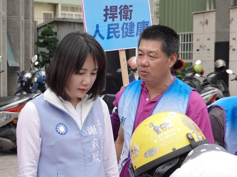 國民黨立委謝衣鳳。(圖/取自謝衣鳳臉書)