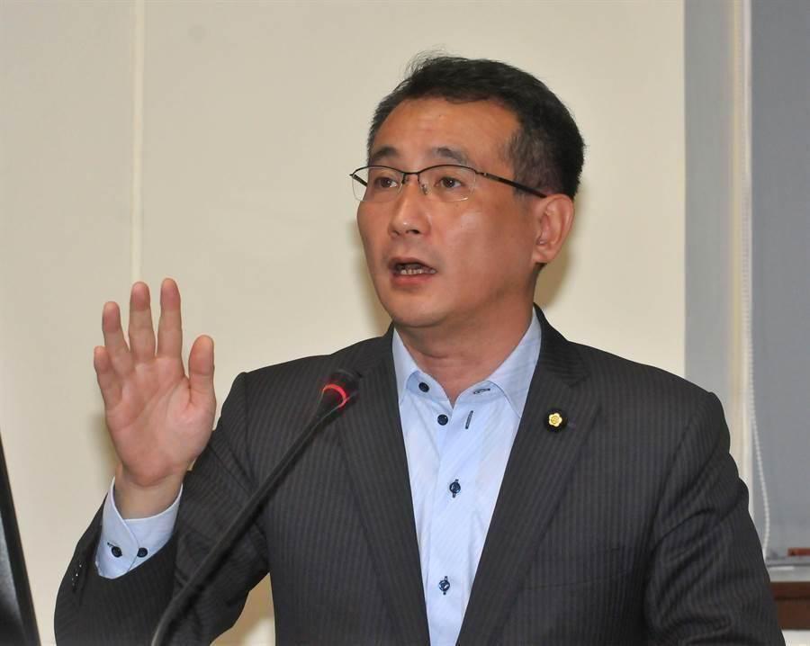 民進黨立委鄭運鵬。(報系資料照)