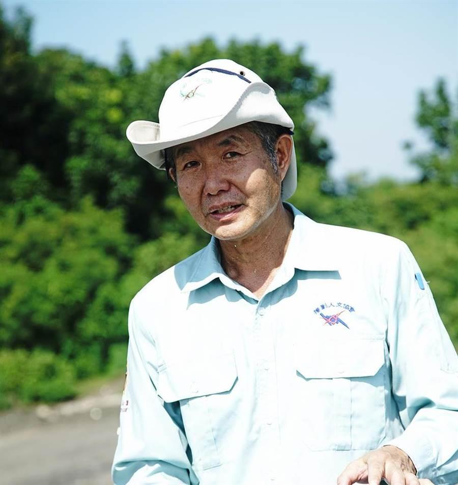 帶路人陳士文:援剿人文協會理事長。(攝影/曾信耀)