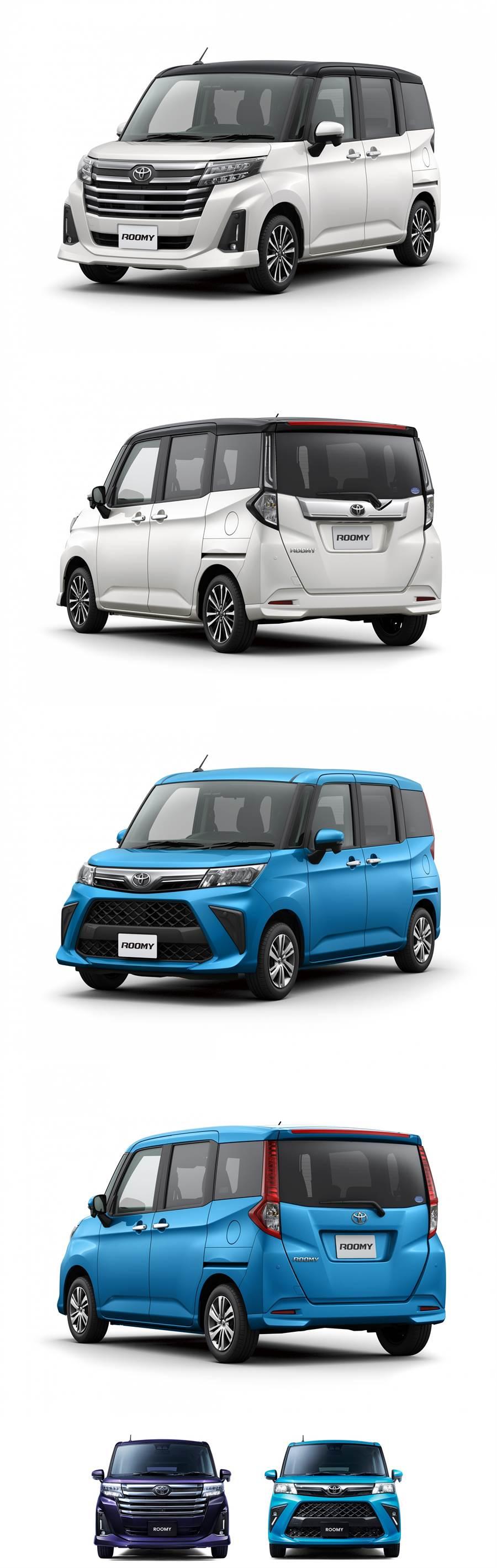 Smart Assist 安全系統進化、內裝質感向上,Daihatsu Thor/Toyota Roomy 小改款正式發表