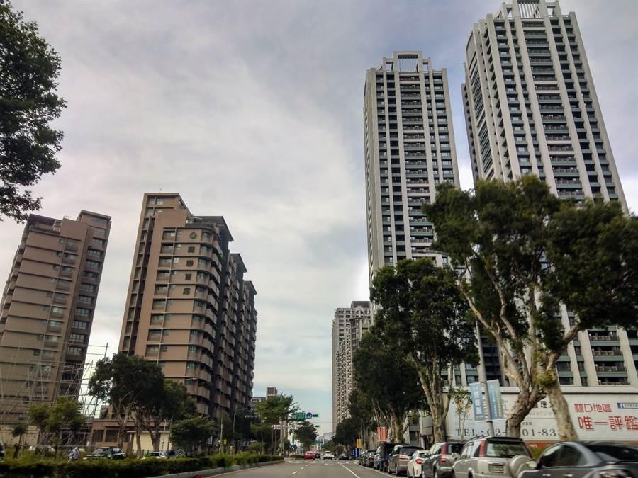 根據統計,新北市淨遷入人口排名前十名行政區,第1名為林口區。(葉思含攝)
