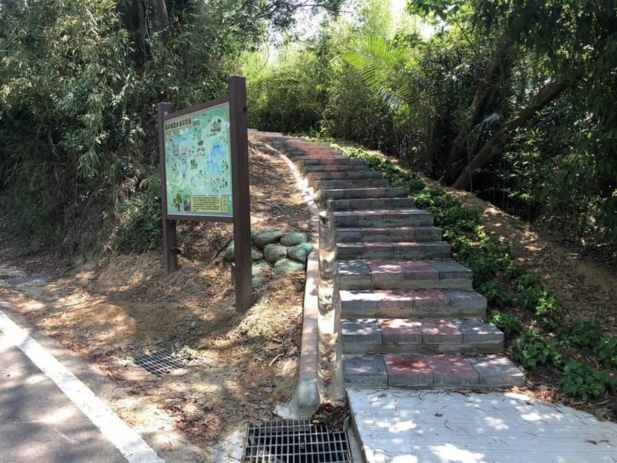 頭份市公所完成永和山水庫步道整建。(頭份市公所提供/謝明俊苗栗傳真)