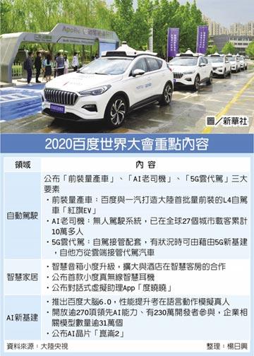 李彥宏:自駕車拚五年內商用