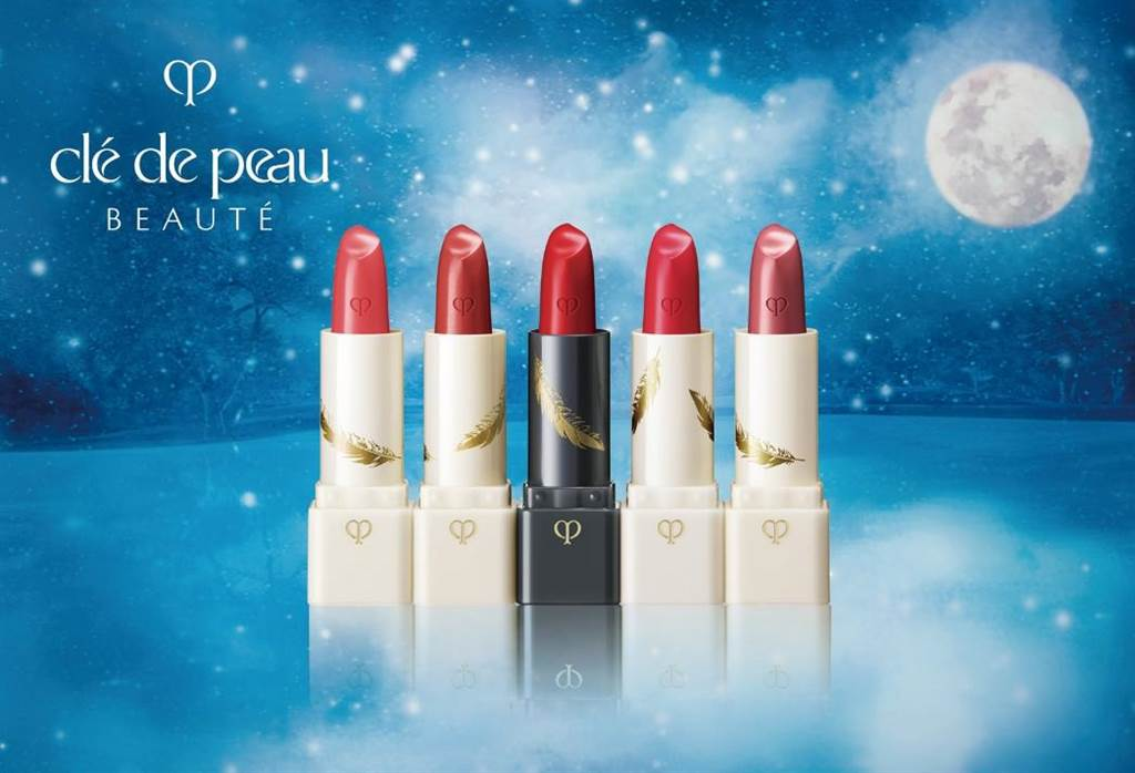 新光三越美妝必搶「9大獨家首賣商品」,Cle de Peau Beaute夢幻星湖脣膏組(首賣限量),3400元。(新光三越提供)