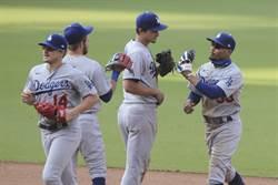 MLB》道奇勝率7成 連8年晉季後賽史上第3長