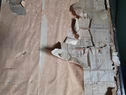 六甲毛昭川老屋整修 發現拉門和紙下藏日據時期文件