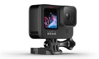 GoPro HERO9 Black運動相機發表 新增前螢幕影像創作更自由