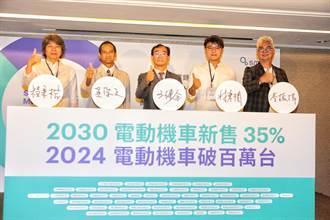 政策轉彎影響減碳目標 智慧移動產業呼籲政府 正視《臺灣永續發展目標》 全力衝刺「 2024電動機車破百萬台」