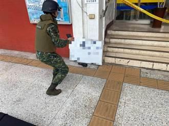 萬華土地宮廟清水溝挖出未爆彈 清潔人員嚇得報警