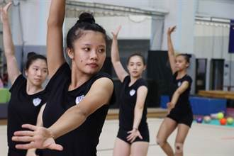 韻律體操好手陳沛安 從世大運二度跳進小巨蛋