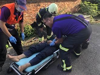 觀音台電高壓電塔工安意外 男員工當場右身麻痺