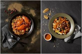 「醬香萬里蟹年糕」吃當季 天香樓主廚攜手科大學生合作新北宴