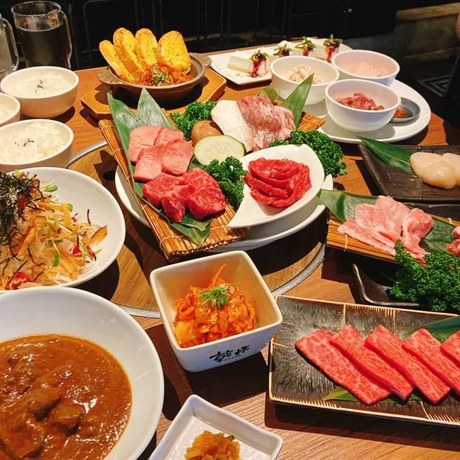 乾杯燒肉居酒屋於9月24日至10月11日期間推出「中秋好肉派對套餐」。(圖/邱映慈攝影)