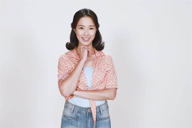 黃瑄加入八點檔《多情城市》,開心飾演江俊和初戀女友。(民視提供)