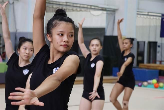 目前升大四的陳沛安,還在摸索未來的規畫,可以確定的是,她依舊會持續跳她最愛的韻律體操。(體育署提供)