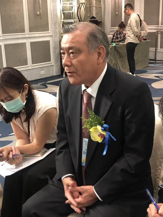 辰亞能源董事長目賀田好弘表示,未來繼續尋找好的太陽能案場標的投資,不限水上型、地面型或屋頂型光電。(圖:王玉樹攝)