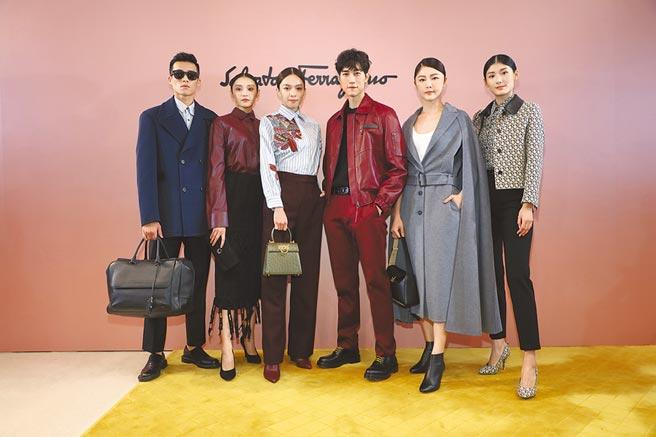 Salvatore Ferragamo秋冬發表現場,男女模走完整季秋冬服裝讓人看得相當過癮。(Salvatore Ferragamo提供)